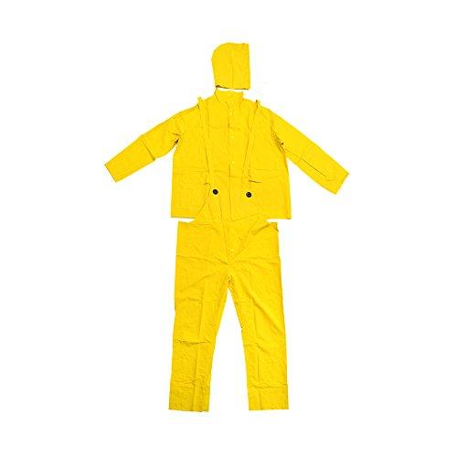 Falcon 201-3503X Premium 3-Piece Rain-Suit, Rain-Coat, Rain-Jacket, Size 3XL (5 Pack)