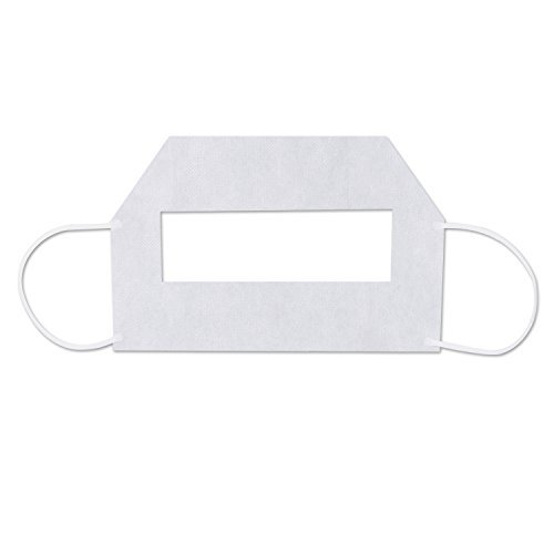 100 pcs Disposable Mask for VR Headset, XHERO White Hygiene Cover Gear for Virtual Reality Oculus Rift HTC Vive PlayStation VR