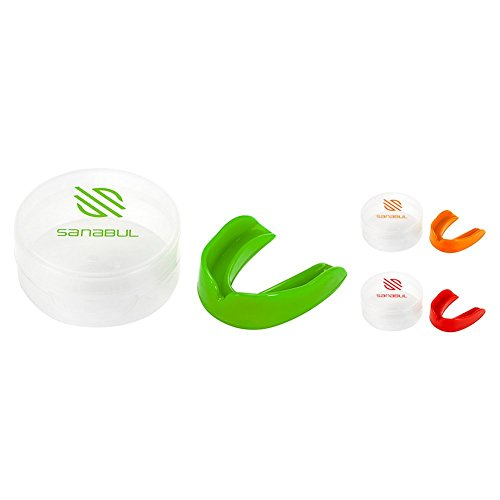 Sanabul Adult Mouth Guard Red ()