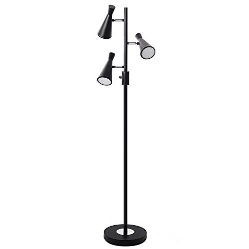SUNLLIPE 3 Light Tree Floor Lamp,LED Floor Reading Lamp,60