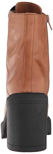 Women's Leather M Madden Fashion Us Royce 8 Steve Cognac Boot OSwqY5Y