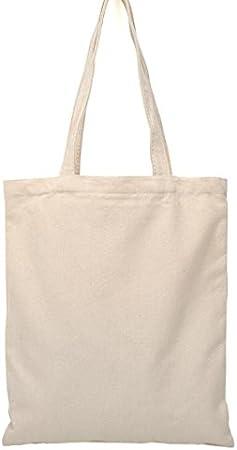 Leisial - Bolsa de tela de cáñamo y algodón, para pintar a mano ...