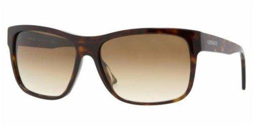 Amazon.com: Versace ve4179 tortuga/marrón – Gafas de sol 60 ...