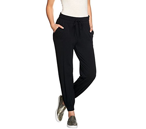 Cheap AnyBody Loungewear Petite Cozy Knit Jogger Pants A286476 hot sale