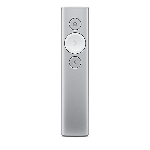 Logitech Spotlight Advanced Presentation Remote – Silver(Certified Refurbished)