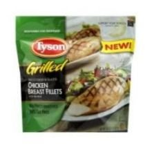 Tyson Fully Cooked Grilled Chicken Breast Fillet, 5 Pound -- 2 per case.