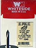 Whiteside Router Bits 1540 V-Groove 60-Degree 1/4-Inch Cutting Diameter and 7/32-Inch Point Length