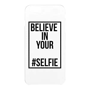 Loud Universe Apple iPhone 6 Plus 3D Wrap Around Believe In Your Selfie Print Cover - White