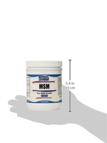 Kala Health MSMPure Fine Powder, Fast Dissolving Crystals, 1 lb, Pure MSM Organic Sulfur Supplement for Joints, Muscle Soreness, Immune Support and Beauty, Skin,Hair & Nails. Made in USA by Kala Health (Image #11)