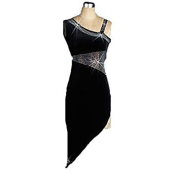 DESY Baile de Salón Vestidos Mujer Rendimiento Licra ...