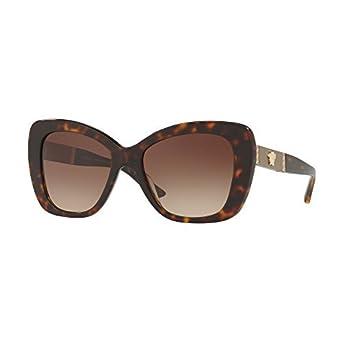 Versace Damen Sonnenbrille » VE4305Q«, braun, 108/13 - braun/braun