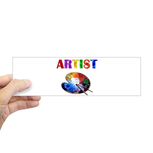 CafePress Artist Bumper Sticker 10