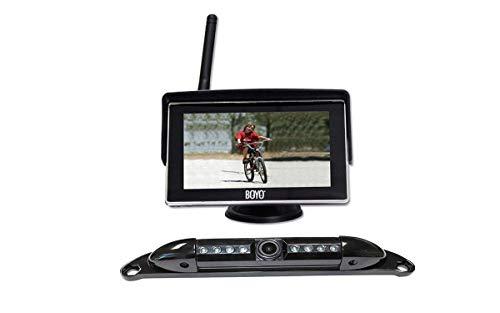 "Boyo VTC525R 5"" Wireless Monitor and Camera System"