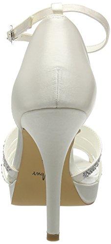 Menbur Women's Kira Ankle Strap Pumps Off White (Off White 04) ZAM4sbj