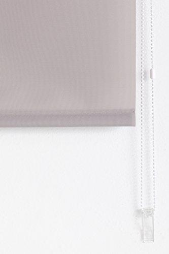 Blackout Enrouleur Store Argent Taupe X Lisse Blindecor Type 175 100 B100 Cm SBwgxEIxq
