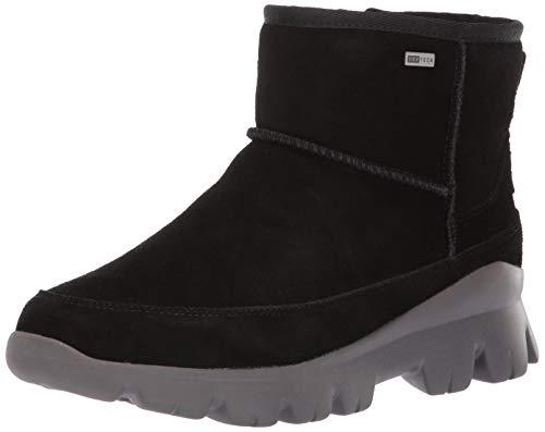 (UGG Women's W Palomar Sneaker Fashion Boot, Black/Charcoal, 7 M US)