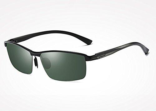 Gris Classic TL UV400 de Aluminio Sol Hombres Gafas de green Piazza Guide black polarizadas Gafas de magnesio Azul Bastidor Sunglasses Gafas Gafas HHrT5
