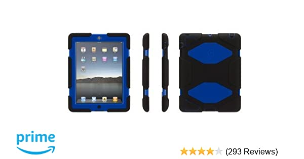 Griffin Black/Blue Survivor All-Terrain Case for iPad 2, iPad 3, and iPad (4th gen)
