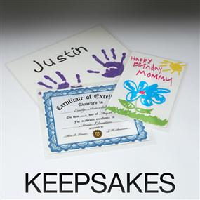 Laminate your keepsakes
