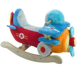 babykidsbargains Bi-Plane Airplane Rocker