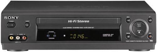 B00008RUXT Sony SLV-N500 4-Head Hi-Fi VCR 31N323SWDTL.