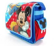 Disney Mickey Mouse and Donald Duck Messenger Bag-tote-bag-school