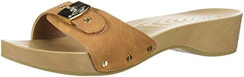 (Dr. Scholl's Shoes Women's Classic Slide Sandal, Saddle Snake Print, 9 M US)