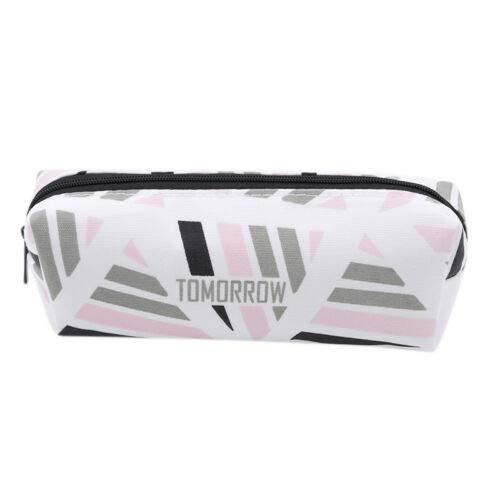 Creative Cosmetics Bag Pencil Case Large Capacity School Tool Makeup Bag New QP (Color - -