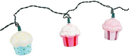Cupcake Decor Crystal Covered Candy Dish Box 1 A