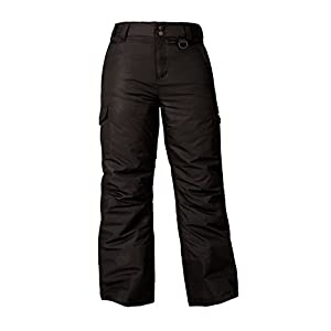 Arctix Youth Cargo Ski Pants, Small, Black
