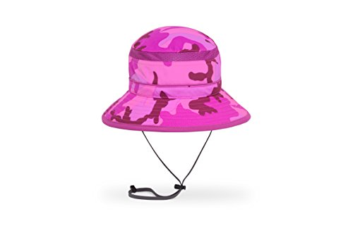 - Sunday Afternoons Kids Fun Bucket Hat, Pink Camo, Small