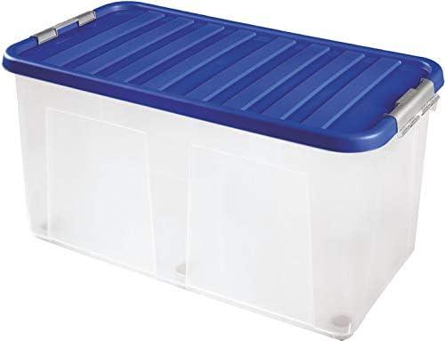 Sterling Ventures Caja de Almacenamiento de plástico Transparente ...
