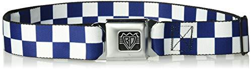 Buy seatbelt buckle belt checkered