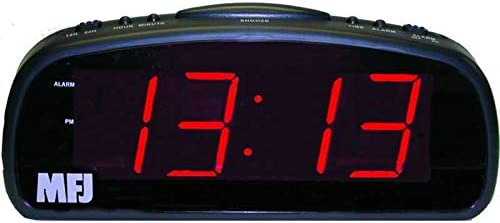 MFJ-113 Clock, 12 24-hour, LED