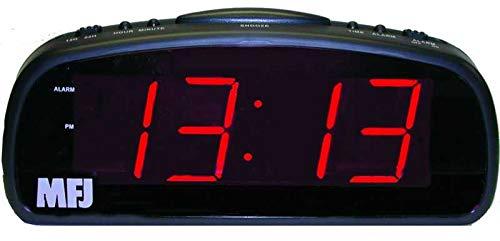 MFJ-113 Clock, 12/24-hour, LED