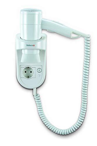 Prima 1200 socket secador de pelo inteligente pared con cable de espiral blanca y el zócalo: Amazon.es: Hogar