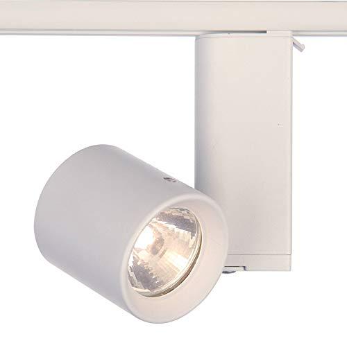 Lighting Track Lightolier - Lightolier Miniforms MR16 Low Voltage Track Light in White