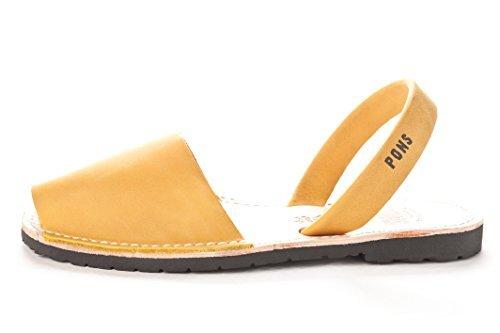 510 - Avarca Pons Classic Style Women - Saffron - 37 ( US 7 ) by Pons