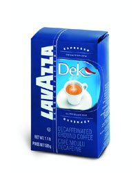 Lavazza Italian Dek Decaf Espresso Ground (0.5 lb bag)