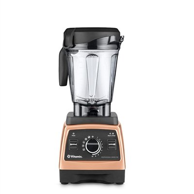 Vitamix 750 Copper Heritage G-Series Blender with 64-Ounce Container + Introduction to High Performance Blending Recipe Cookbook + Getting Started DVD + QuickStart Guide + Low-Profile Tamper