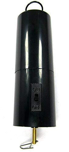 WorldaWhirl Whirligig Wind Spinner Display Motor Revolve Twist Turn Twirl Swirl (Battery Powered 30 RPM)