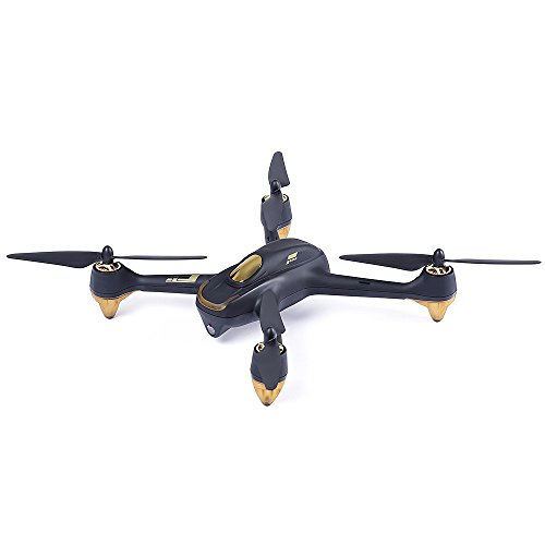 Glumes RC Quadcopter RTF With 1080P HD Camera GPS - Hubsan H501S X4 5.8G FPV Brushless|Good Gift for Adults + Kids |American Warehouse Shipment (Black) by Glumes (Image #1)