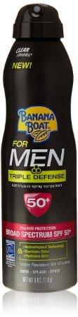 Banana Boat Sunscreen Triple Defense
