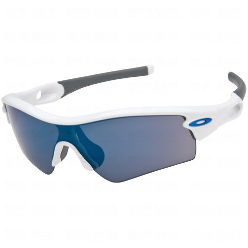 Oakley 09-766 Radar Path Polished White w/Ice Iridium