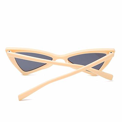 Personalidad E Sol polarizadas Gafas de Gafas de Ojos Retro Intellectuality Sol Hombre Mujer D de qa7xfA