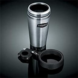 Kuryakyn Snap-N-Go with Stainless Steel Mug - Silver