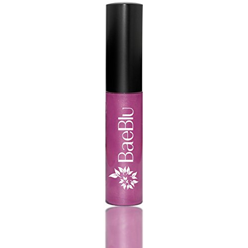 Best Organic 100% Natural Vegan Hydrating Antioxidant-Rich Lip Gloss, Made in USA by BaeBlu, Wild Orchid