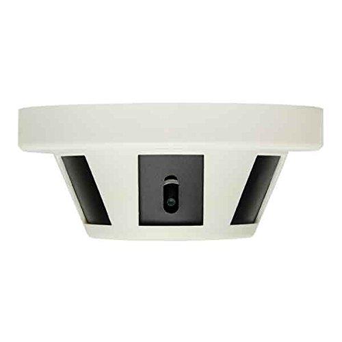 REVO America Aero HD Smoke Detector Surveillance Camera, Black (RCSMKD-1)
