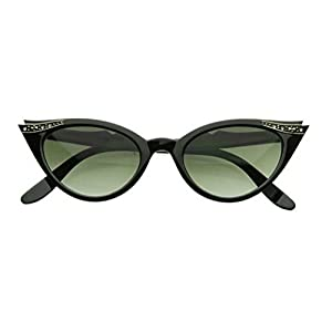 Cateye or High Pointed Eyeglasses or Sunglasses Vintage Inspired Fashion…