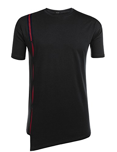 Coofandy Men's Fashion Short Sleeve T shirts Casual Tee Basic Shirt from COOFANDY